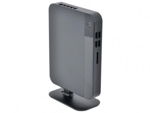 Платформа Pegatron Venus L6 (90P2-5Y00150), Celeron 3855U 1.65, SO-DIMM DDR4 1.2В/ Видео 2*HDMI / SATAIII/ LAN1Gb/ WiFi/ 2*USB2.0/ 2*USB3.0/ неттоп, черный