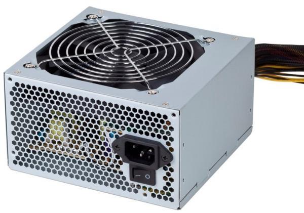 БП для корпуса ATX Foxline ATX-400PRS, 400Вт, 24+4pin, 4pin(CPU), 2*4pin(molex)/FD/2*SATA, 120*120мм