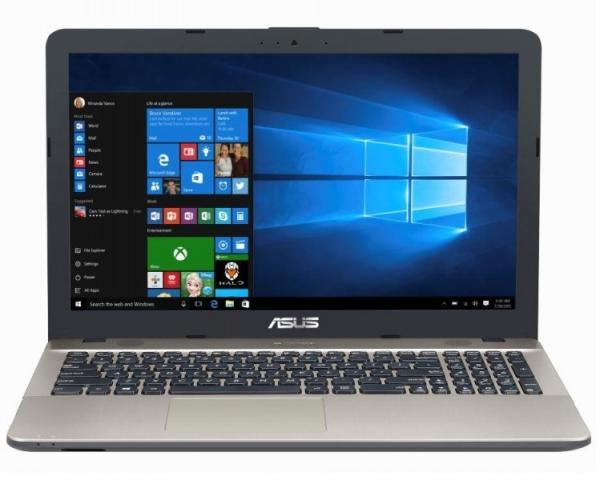 "Ноутбук 15"" ASUS X541UV-GQ988, Core i3-7100U 2.4 4GB 500GB GT920MX 2GB USB2.0/USB3.0 USB-C LAN WiFi BT HDMI камера SD 2.04кг DOS черный-золотистый"