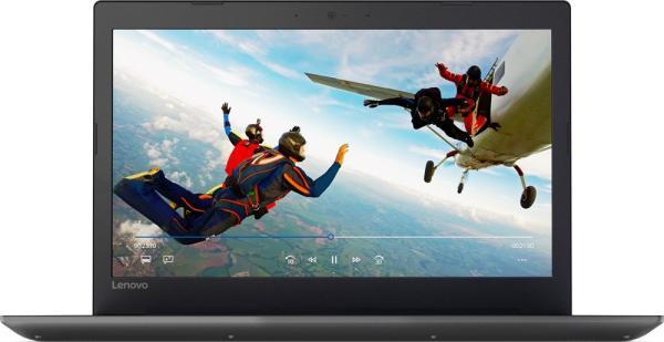 "Ноутбук 15"" Lenovo Ideapad 320-15IKBRN (81BG00L0RU), Core i7-8550U 1.8 8GB 1TB 1920*1080 IPS MX150 4GB 2*USB3.0 USB-C LAN WiFi HDMI камера SD 2.3кг DOS черный"