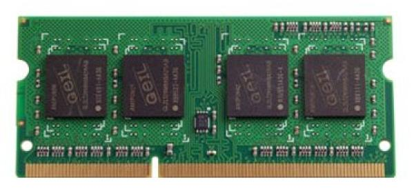 Оперативная память SO-DIMM DDR3  4GB, 1600МГц (PC12800) Geil GGS34GB1600C11S, 1.35В