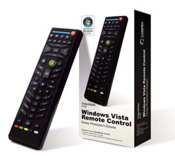 Пульт ДУ для компьютера Compro VideoMate K100, USB, ИК, для Windows Media Center