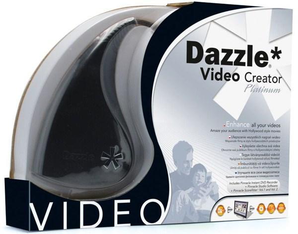Устройство нелинейного видеомонтажа Pinnacle Dazzle Video Creator Platinum, USB2.0, входы RCA/S-Video, RCA (стерео)