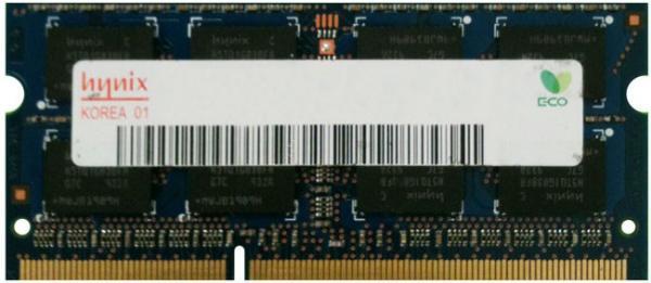 Оперативная память SO-DIMM DDR3  8GB, 1600МГц (PC12800) Hynix HMT41GS6AFR8C
