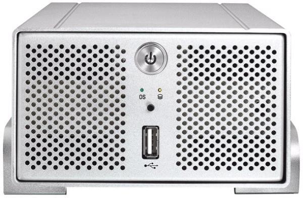 """Сетевое устройство хранения данных i-Stor iS607, 2*3.5"""" НЖМД SATAII RAID, LAN1Gb, 2*USB2.0, Storm SL3516 300МГц, Web-интерфейс, сервер BitTorrent(клиент)/Bonjour/FTP/iTunes/UPnP, алюминий, серебристый"""