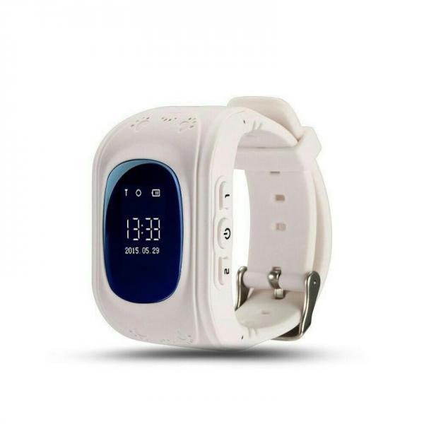 "Часы детские Smart Baby Watch Q50, GSM 900/1800/GPRS, 0.96"", GPS, белый"