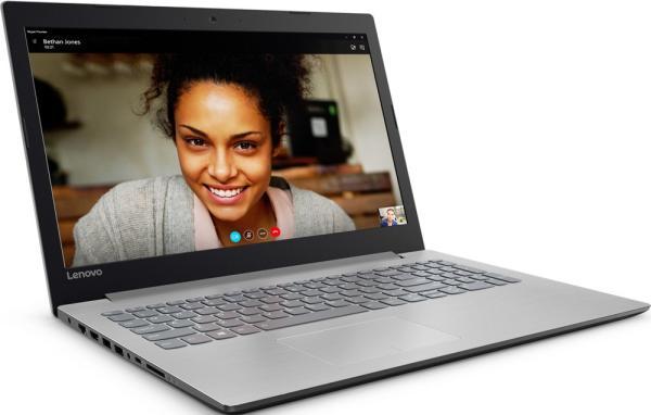 "Ноутбук 15"" Lenovo Ideapad 320-15AST (80XV0022RK), AMD A6-9220 2.5 4GB 500GB AMD 530 2GB USB2.0/USB3.0 LAN WiFi BT HDMI камера SD 1.92кг W10 серый"