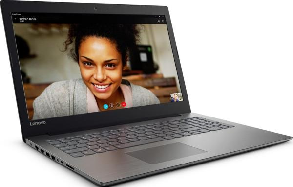 "Ноутбук 15"" Lenovo Ideapad 320-15IKBN (80XL02UERK), Core i3-7100U 2.4 8GB 1Тб 1920*1080 GT940MX 2GB 2*USB3.0 USB-C LAN WiFi BT HDMI камера SD 2.2кг DOS черный"