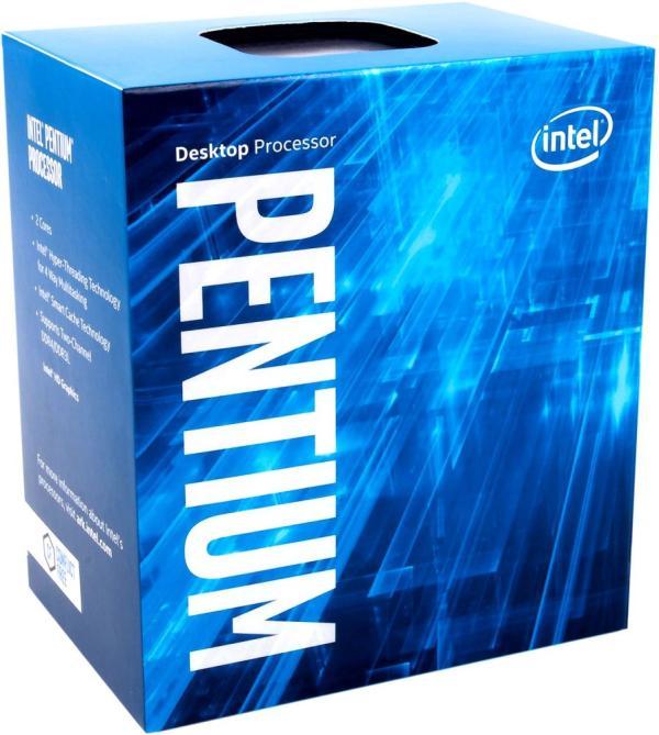 Процессор S1151 Intel Pentium Dual-Core G4600 3.6ГГц, 2*256KB+3MB, 8ГТ/с, Kaby lake 0.014мкм, Dual Core, видео 350МГц, 54Вт, BOX
