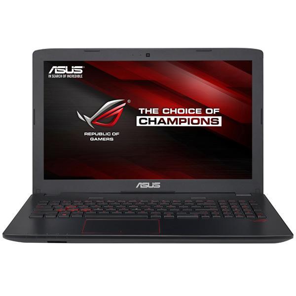 "Ноутбук 15"" ASUS GL552VX(SKL)-DM426T, Core i5-6300HQ 2.3 16GB 1Тб GTX950M 2GB DVD-RW 2*USB3.0/USB2.0 USB-C LAN WiFi BT HDMI камера SD 2.7кг W10 серый"