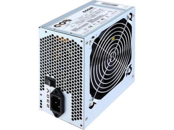 БП для корпуса ATX SuperPower QORi 600W, 600Вт, 20+4pin, 4pin(CPU)/ 2*4pin(molex)/FD/2*SATA, 120*120мм, PFC
