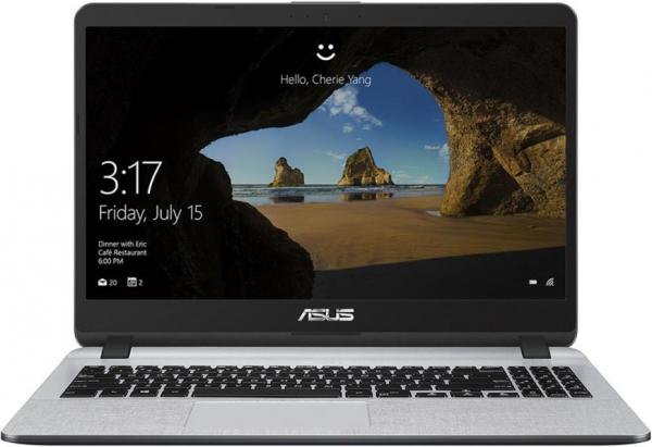 "Ноутбук 15"" ASUS X507UB-EJ043, Core i3-6006U 2.0 4GB 1Тб MX110 2GB USB3.0/USB2.0 USB-C LAN WiFi BT HDMI/VGA камера SD 2.04кг DOS серый"