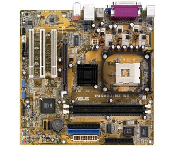 Материнская плата S478 ASUS P4S800-MX SE, SiS661FX, 800МГц, 2DDR400, AGP8X, 3PCI, Видео, VGA, Звук 5.1 S/PDIF, 2IDE, 2SATAII RAID, 4USB2.0, COM, LAN, mATX