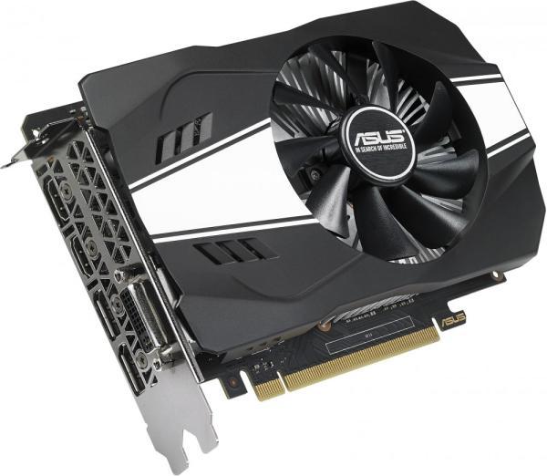 Видеокарта PCI-E Gf GTX1060 ASUS PH-GTX1060-6G, 6GB GDDR5 192bit 1506/8008Гц, PCI-E3.0, HDCP, 2*DisplayPort/DVI/2*HDMI, 120Вт