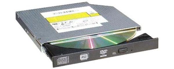 Привод DVD-RW тонкий Sony-NEC (Optiarc) AD-5590A,  IDE, DVD-Dual 6/6, DVD 8/8/6/8/8, CD 24/24/24, для ноутбука, черный