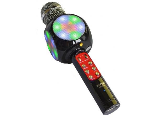 В августе суперцена на беспроводной микрофон караоке WS1816 Black!