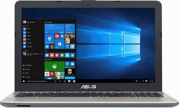 "Ноутбук 15"" ASUS X541NA-GQ579, Celeron N3450 1.1 4GB 256GB SSD DVD-RW USB2.0/USB3.0 LAN WiFi BT HDMI камера SD 2.1кг DOS серый-коричневый"