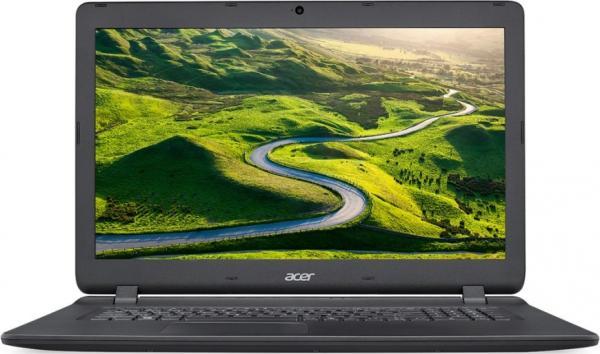 """Ноутбук 17"""" Acer Aspire ES1-732-P9CK (NX.GH4ER.010), Pentium N4200 1.1 4GB 500GB 1600*900 USB2.0/USB3.0 LAN WiFi BT HDMI камера 2.8кг W10 черный"""
