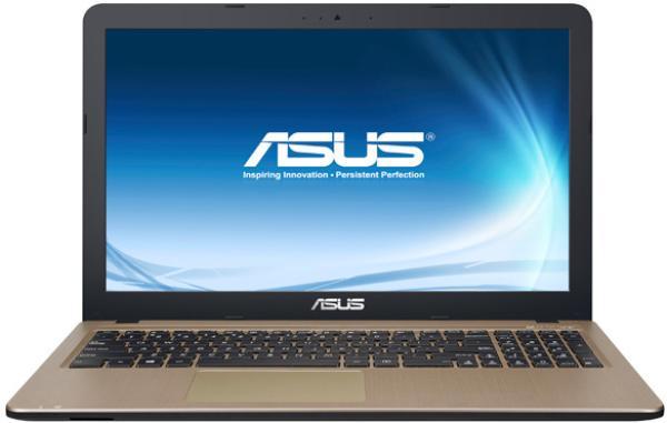"Ноутбук 15"" ASUS X540LA-DM1082T, Core i3-5005U 2.0 4GB 500GB 1920*1080 USB2.0/USB3.0 USB-C LAN WiFi BT HDMI/VGA камера SD 1.75кг W10 черный-золотистый"
