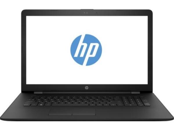 """Ноутбук 17"""" HP 17-ak009ur (1ZJ12EA), AMD A6-9220 2.5 4GB 500GB 1600*900 DVD-RW 2*USB2.0/USB3.0 LAN WiFi BT HDMI камера SD 2.55кг W10 черный"""