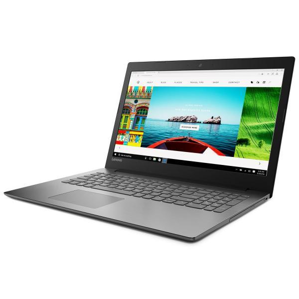 """Ноутбук 15"""" Lenovo Ideapad 320-15IAP (80XR00WNRK), Pentium N4200 1.1 4GB 1Тб 192*1080 AMD 530 2GB USB2.0/USB3.0 LAN WiFi BT HDMI камера SD 2.3кг W10 черный"""