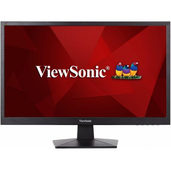 """Монитор ЖК 24"""" Viewsonic VA2407H, 1920*1080 LED, 16:9, 250кд, 1000:1, 5мс, TN, 170/160, HDMI, HDCP, черный"""