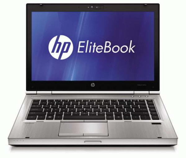 """Ноутбук 14"""" HP Elitebook 8460p, Core i5-2540M 2.4 4GB 320GB 1366*768 DVD-RW USB2.0 LAN WiFi BT DP/VGA камера W7P серый, восстановленный"""