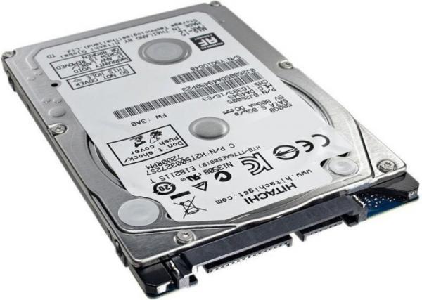 "Жесткий диск 2.5"" SATA  500GB Hitachi Travelstar Z7K500.B 1W10098 (HTS725050B7E630), SATAIII, 7200rpm, 32MB cache, для ноутбука"