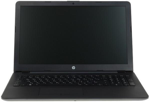 """Ноутбук 15"""" HP 15-bs650ur (3LG77EA), Celeron N3060 1.6 4GB 128GB SSD USB2.0/2*USB3.0 LAN WiFi BT HDMI камера SD 2.23кг W10 черный"""