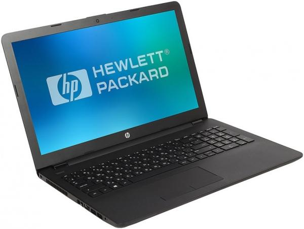 "Ноутбук 15"" HP 15-bs158ur (3XY59EA), Core i3-5005U 2.0 4GB 500GB DVD-RW 2*USB2.0/USB3.0 LAN WiFi BT HDMI камера SD 2.1кг DOS черный"