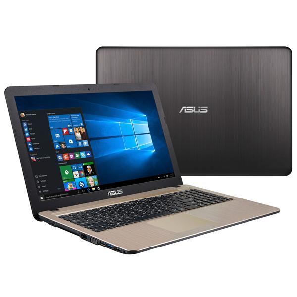 "Ноутбук 15"" ASUS K540LA-XX1132, Core i3-5005U 2.0 4GB 500GB USB2.0/USB3.0 USB-C LAN WiFi BT HDMI/VGA камера SD 2кг DOS золотистый-черный"
