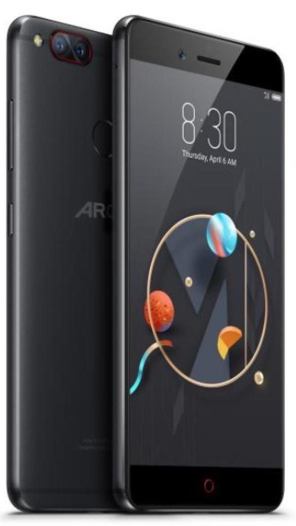 "Смартфон 2*sim Archos Diamond Alpha, 8*1.8ГГц, 64GB, 5.2"" 1920*1080, SDHC-micro, 4G/3G, GPS, BT, WiFi, NFC, радио, 4 камеры 13+13/16Мпикс, Android 6, 72.5*146*7.45мм 155г, черный"