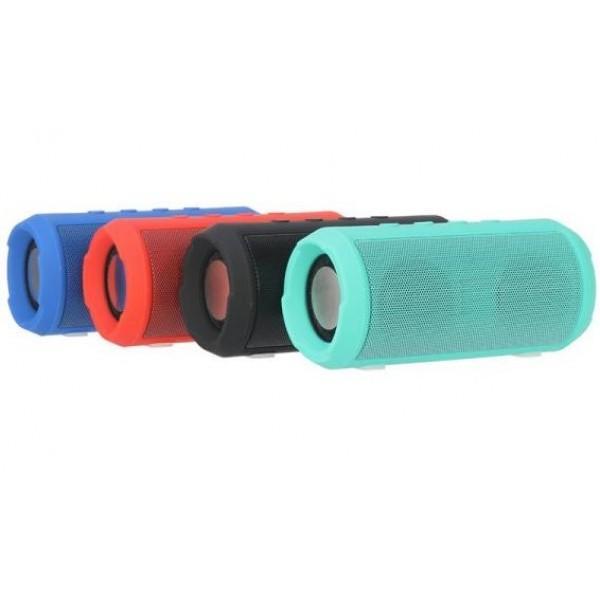 Колонки  Bluetooth  мобильные с MP3 плеером JB Charge Mini 2, 5Вт, 150..20000Гц, USB, линейный вход, SD-micro, аккумулятор, пластик, 142*63*63мм 300г