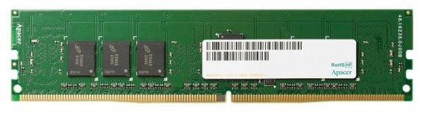 Оперативная память DIMM DDR4  4GB, 2400МГц (PC19200) Apacer AU04GGB24CETBGH, 1.2В