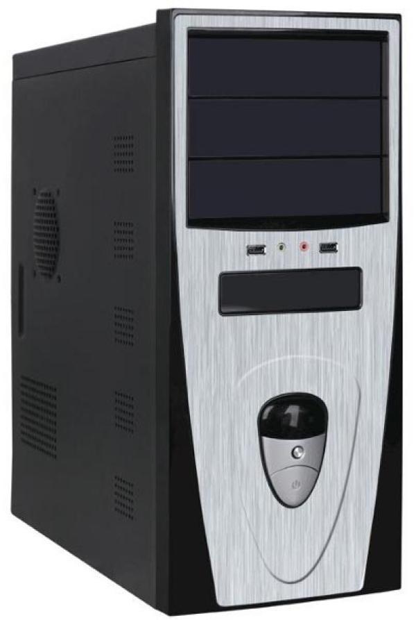 Компьютер РЕТ Эверест, Pentium G4620 3.7/ ASUS H110M Звук Видео LAN1Gb/ DDR4 4GB/ Gf GT1030 2GB/ 1TB/ DVD-RW/ ATX 500Вт USB3.0 Audio черный-серебристый