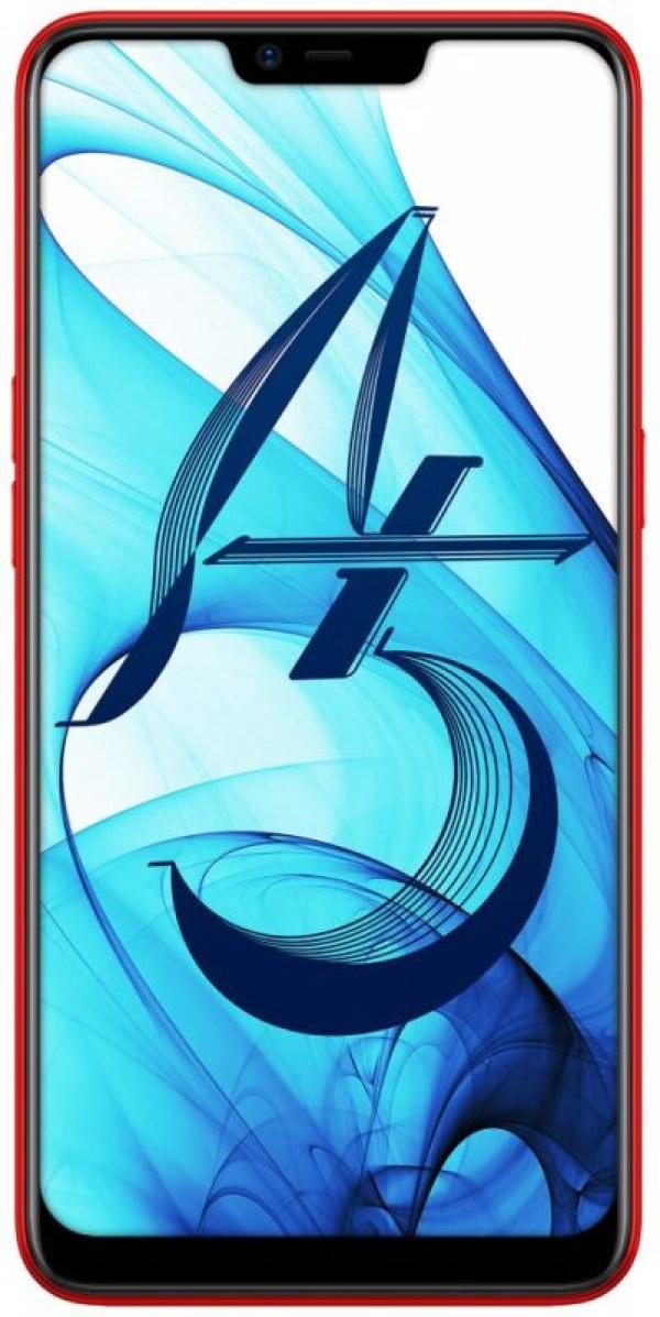 "Смартфон 2*sim OPPO A5, 8*1.8ГГц, 32GB, 6.2"" 1520*720, SDHC-micro, 4G/3G, GPS, BT, WiFi, радио, 3 камеры 13+2/8Мпикс, Android 8, 75.6*156.1*8.2мм 170г, красный"