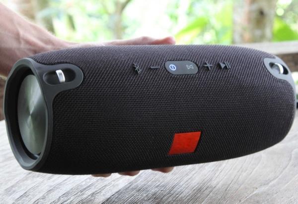 Колонки  Bluetooth  мобильные с MP3 плеером JB Xtreme, 50Вт, 20..20000Гц, USB, линейный вход, SD-micro, аккумулятор, пластик, 283*122*122мм 2100г