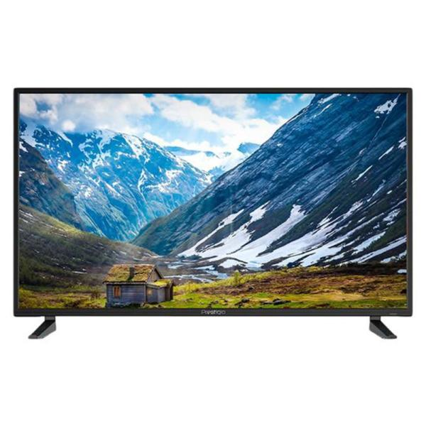 "ТВ LED 40"" Prestigio 40"" GRACE 1, 1920*1080, 3HDMI/RCA/VGA, SPDIF(Coaxial)/MiniJack, CI+/2USB2.0/Wi-Fi, JPEG/MP3/MPEG4/MKV, Smart TV/Android, PVR/Time Shift, DVB-T2/C, 2*8Вт, черный"