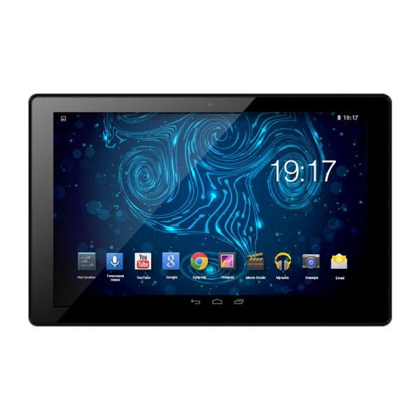 "Планшет 10.1"" RoverPad Magic HD10G, 1280*800, ARM 1.2ГГц, 8GB, 3G, GSM, BT, WiFi, SD-micro/SDHC-micro, 2 камеры 2/0.3Мпикс, Android 7, 242.3*171.2*9.5мм 560г, черный"