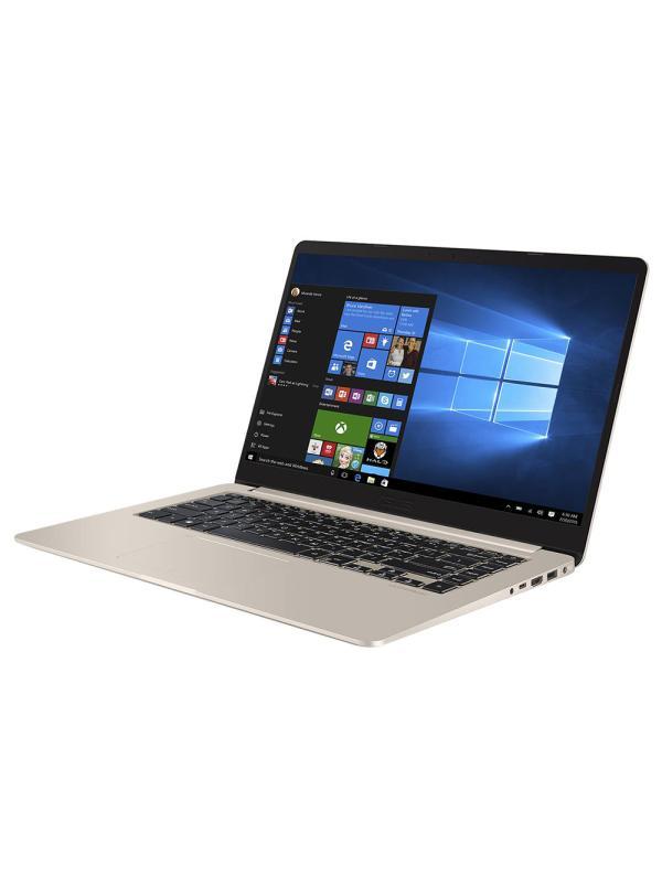 "Ноутбук 15"" ASUS S510UN-BQ442T, Core i5-8250U 1.6 6GB 500GB+128GB SSD 1920*1080 IPS MX150 2GB 2*USB2.0/USB3.0 USB-C LAN WiFi BT HDMI камера SD 1.7кг W10 серый"