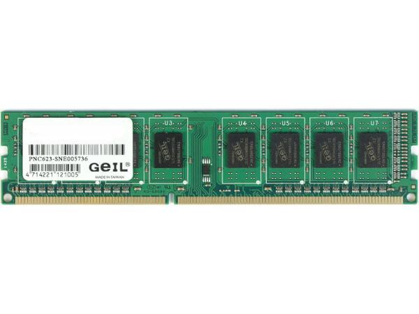Оперативная память DIMM DDR3  4GB, 1600МГц (PC12800) Geil GG34GB1600C11S, 1.35В