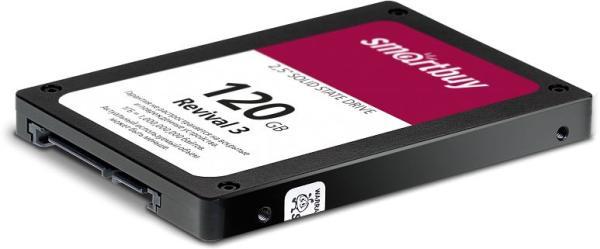 "Накопитель SSD 2.5"" SATA  120GB Smartbuy Revival 3 (SB120GB-RVVL3-25SAT3), SATAIII, 3D TLC, 550/450MB/s"