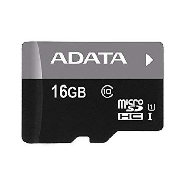 Карта памяти SDHC-micro (TransFlash) 16GB A-Data Premier Pro AUSDH16GUICL10-R, 50/10МБ/сек, class 10, без адаптера