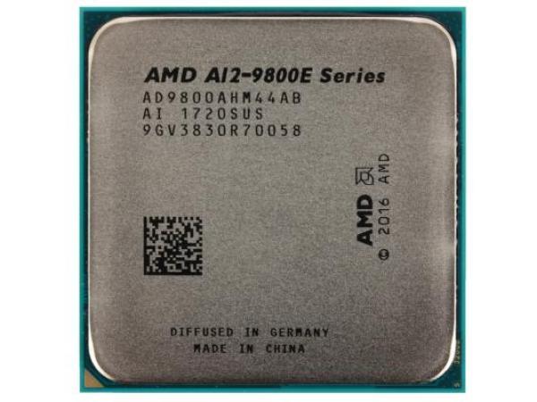 Процессор AM4 AMD A12-9800E 3.1ГГц, 2*1MB, Bristol Ridge 0.028мкм, Quad Core, Dual Channel, 35Вт