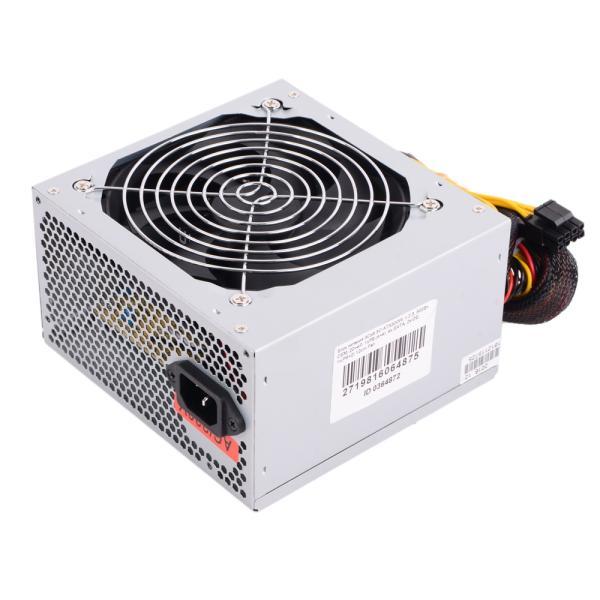 БП для корпуса ATX 3Cott 3C-ATX500W, 500Вт, 20+4pin, 4+4pin(CPU)/ 6+2pin(PCI-E)/ 2*4pin(molex)/ 2*SATA, 120*120мм, 2ШП