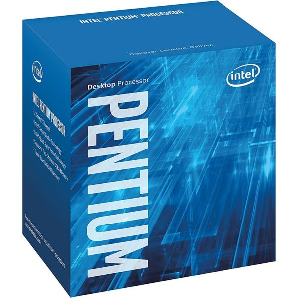 Процессор S1151 Intel Pentium Dual-Core G4560 3.5ГГц, 2*256KB+3MB, 8ГТ/с, Kaby lake 0.014мкм, Dual Core, видео 350МГц, 54Вт, BOX