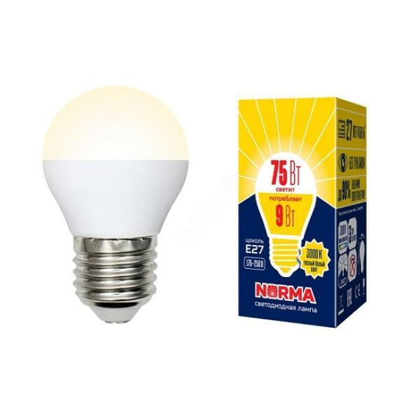 Суперцена на светодиодную лампу E27 Volpe Norma!
