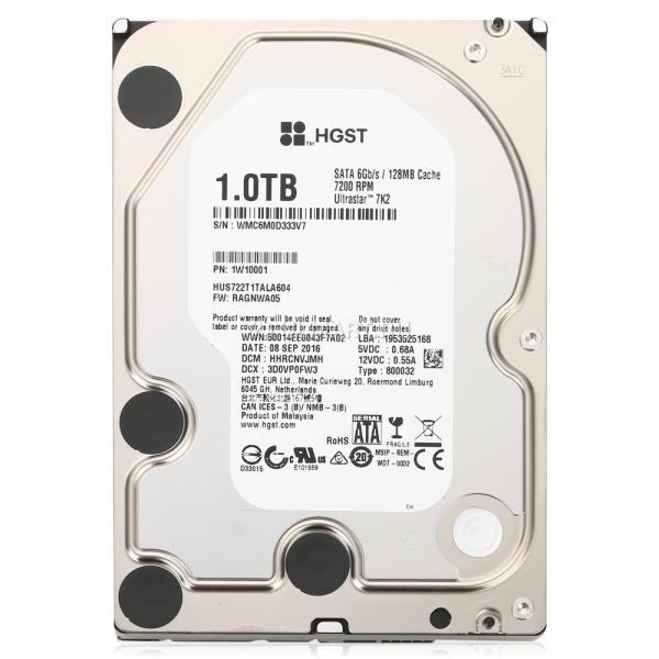 "Жесткий диск 3.5"" SATA   1TB WD 1W10001, SATAIII, 7200rpm, 128MB cache, AF"