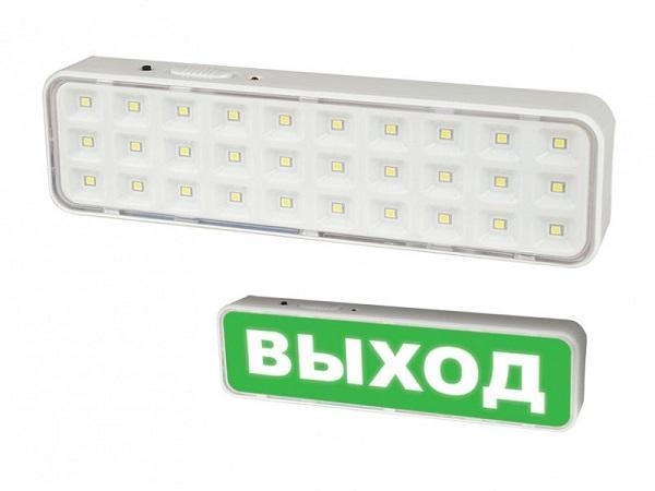 Светильник аварийного освещения Volpe ULR-Q401 2W/DW WHITE S01