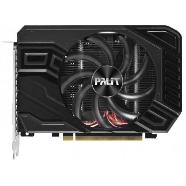 Видеокарта PCI-E Gf GTX1660 Ti Palit PA-GTX1660Ti STORMX OC 6G, 6GB GDDR6 192bit 1500/12000Гц, PCI-E3.0, HDCP, DisplayPort/DVI/HDMI, 120Вт